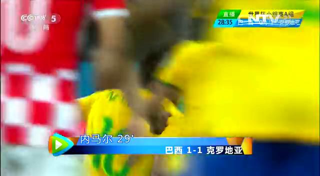【克罗地亚集锦】巴西3-1克罗地亚 反击犀利遭逆转截图
