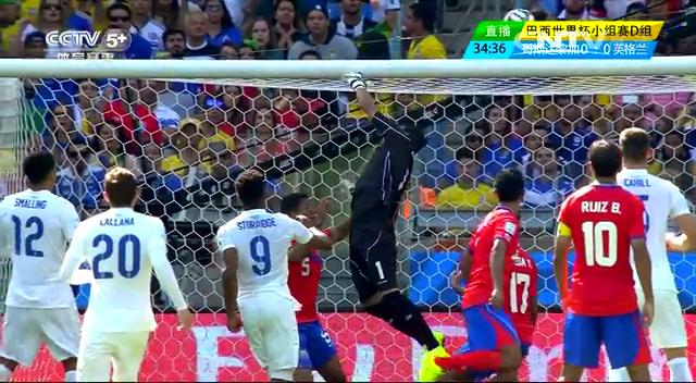 全场集锦:哥斯达黎加0-0英格兰 三狮军团3战1分出局截图