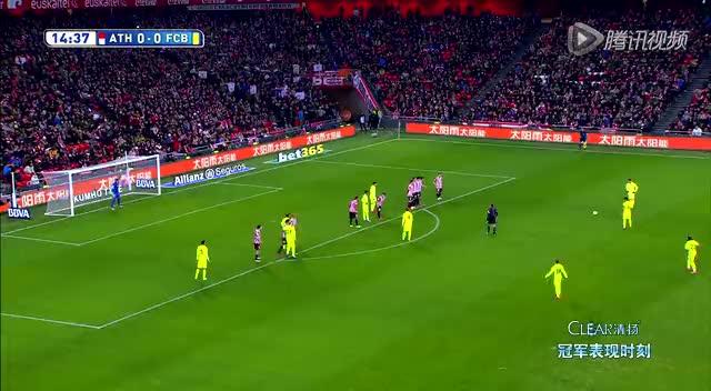 【进球】任意球直接破门!梅西助巴萨客场先拔头筹截图