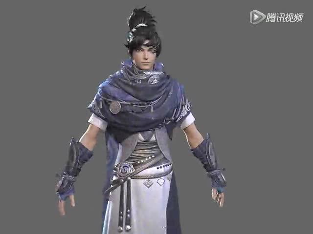 剑网3重制版实景爆料 师姐皮肤白里透红