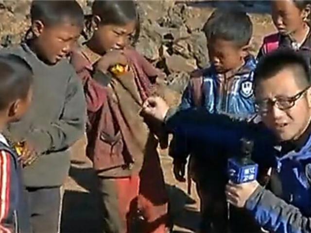 走近四川凉山不穿袜子的孩子们截图