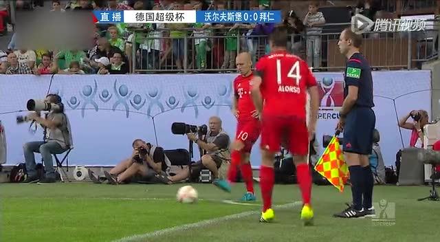 【集锦】狼堡点球6-5拜仁夺超级杯 罗本建功本特纳扳平截图