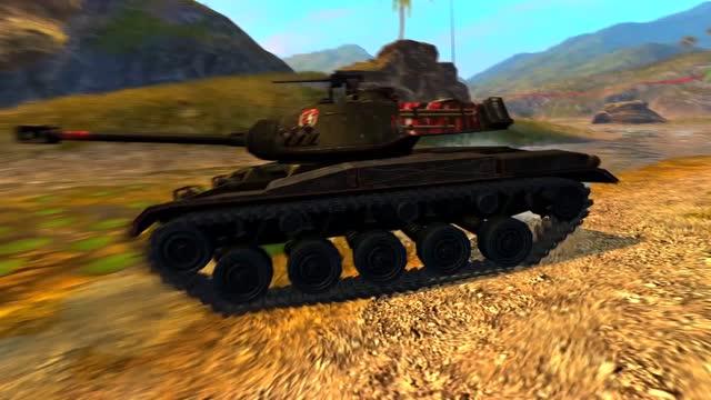 全新M41开火 庆坦克世界闪击战飓风测试圆满结束