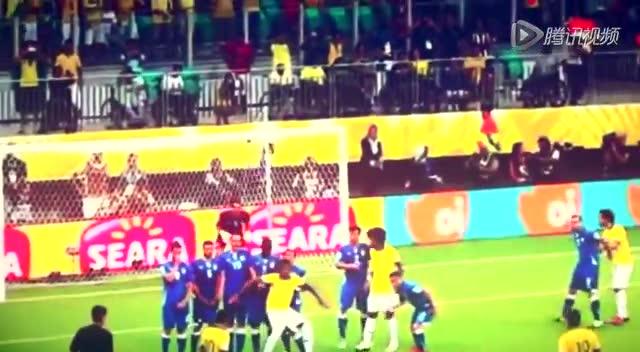 内马尔13-14赛季全进球 穿裆虐后卫+独力救巴西截图