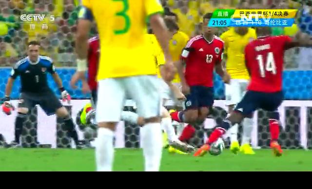 【巴西集锦】巴西2-1哥伦比亚 双中后卫各入一球截图