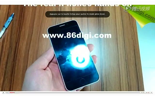 iPhone 6 外观样机曝光截图