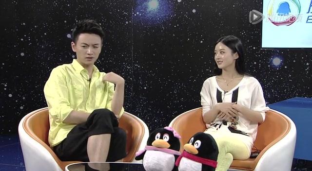 陈晓回应与赵丽颖恋爱传闻 她很吸引我截图