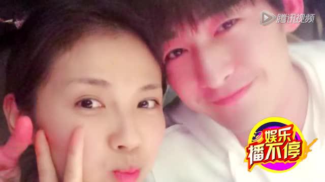 """刘涛深夜与张翰合影 网友趣称""""流汗组合"""""""