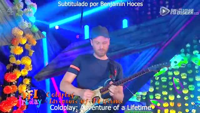 Coldplay - Adventure Of A Lifetime (Live)截图