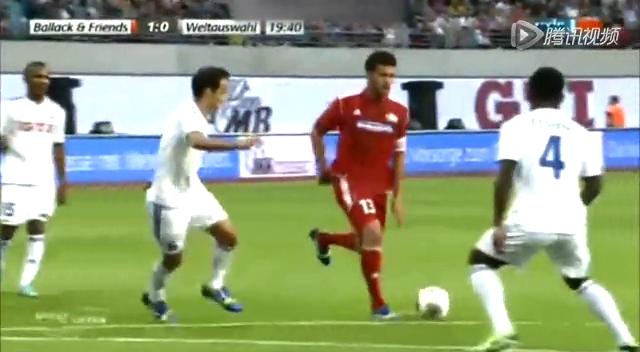 巴拉克告别赛帽子戏法 许尔勒传射德罗巴2球截图
