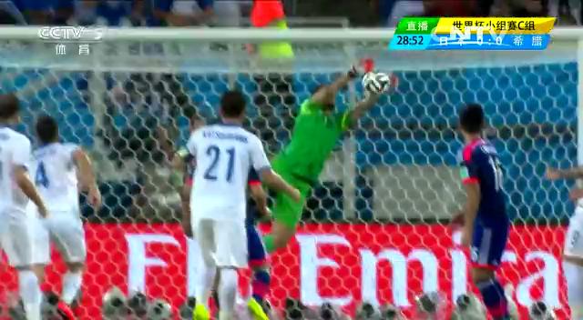 全场集锦:日本0-0希腊 多次错失良机截图