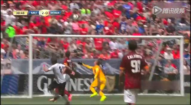 【集锦】国际冠军杯:曼联3-2罗马 鲁尼梅开二度截图
