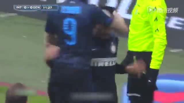 【集锦】国米3-1热那亚 维迪奇绝杀伊卡尔迪破门截图