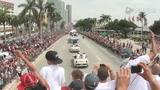 视频:热火街头巡游精彩瞬间 排场显冠军风采