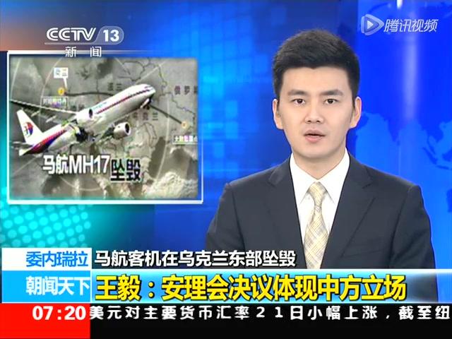 王毅:安理会决议体现中方立场截图