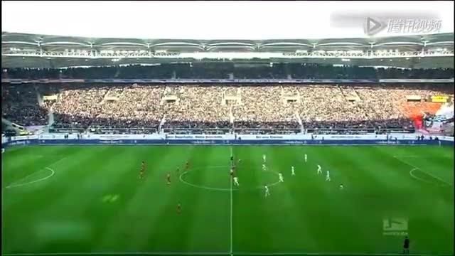 【集锦】拜仁2-0斯图加特 罗本建功阿拉巴世界波截图