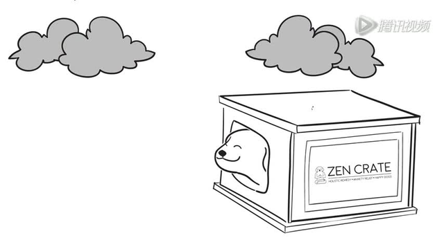 zencrate智能狗窝 让狗狗不在焦虑害怕图片