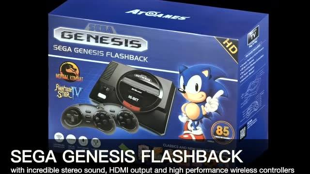 效仿任天堂 周边商推出世嘉MD和雅达利2600复古迷你游戏机