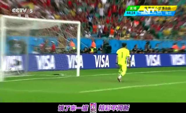 【个人集锦】范佩西惊世头球 荷兰队魂斩两球截图