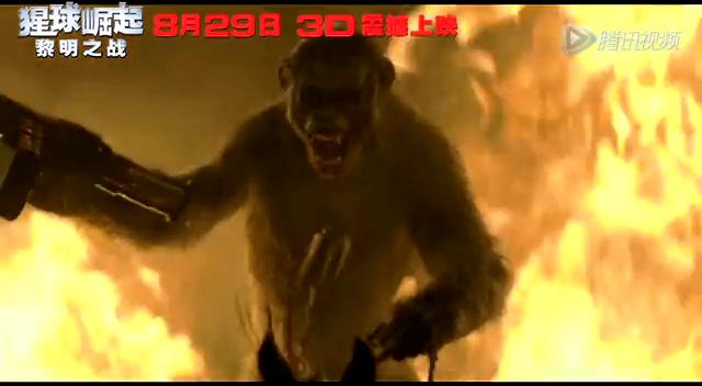 """《猩球崛起2》中国超长版特辑 揭秘""""神片""""如何炼成截图"""