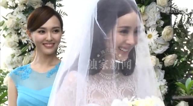 独家:幂威婚礼全程 杨幂:我将毫无保留地爱你截图