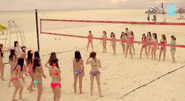 SNH48《盛夏好声音》H队唯美版截图