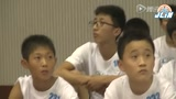 林书豪训练营济南站 东营市小球员秀球技