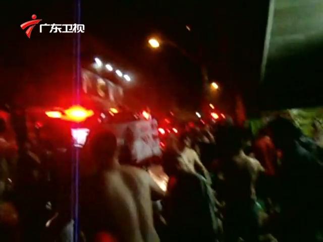 巴西夜总会大火233人死亡截图