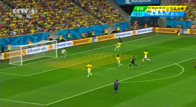 全场集锦:巴西0-3荷兰 范大将军点球建功截图