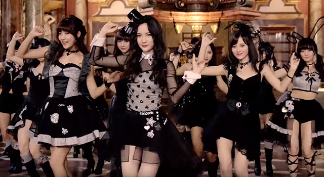 SNH48总选汇报MV《万圣节之夜》独家首播截图