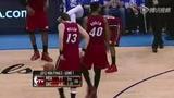 视频:总决赛Ⅰ 费舍尔使狠连环脚中伤查莫斯