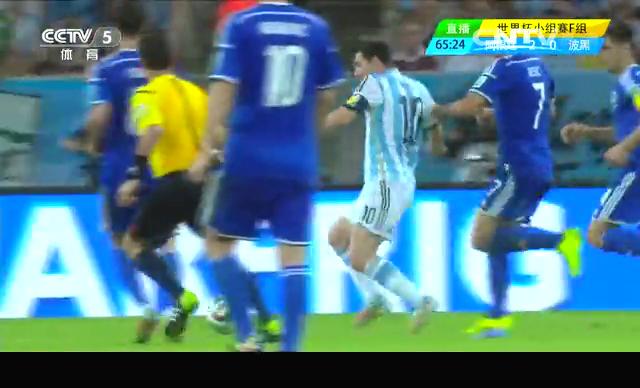 【个人集锦】梅西任意球造乌龙 长途奔袭破门得分截图