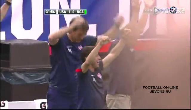 全场集锦:美国2-1尼日利亚 英超悍将破门截图