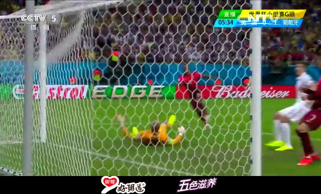 【葡萄牙集锦】美国2-2葡萄牙 C罗助攻纳尼进球截图