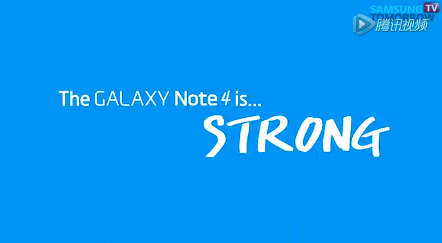 苹果弯曲门三星落井下石 公布Galaxy Note 4强度测试截图
