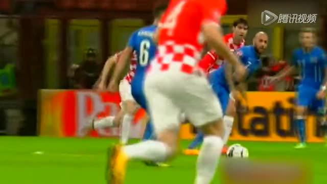 【集锦】意大利1-1克罗地亚 巴萨新核献助攻截图