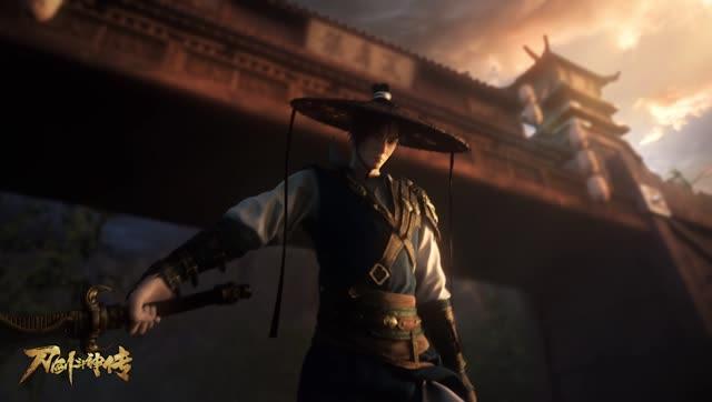 《刀剑斗神传》30秒预告CG动画