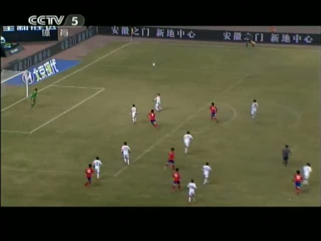国青男足久攻不下 U22友谊赛0-1不敌韩国截图