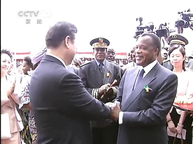 习近平结束国事访问和第五次会晤后回到北京截图