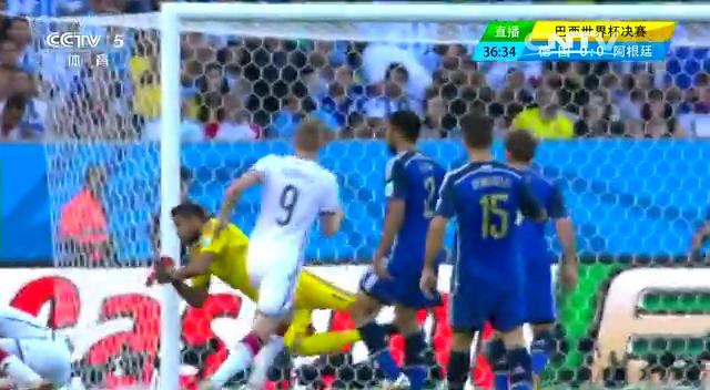全场集锦:德国1-0阿根廷 加时赛格策绝杀截图