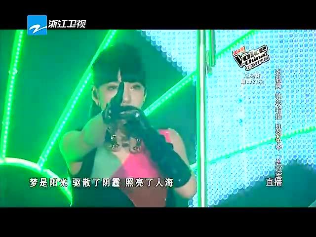 就现在 + 无所不在 [中国好声音第三季 2014/10/07 Live]截图