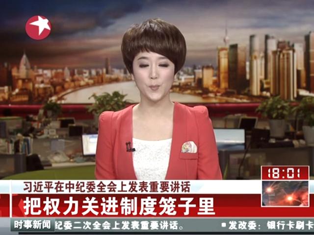 """习近平:反腐要坚持""""老虎""""""""苍蝇""""一起打截图"""