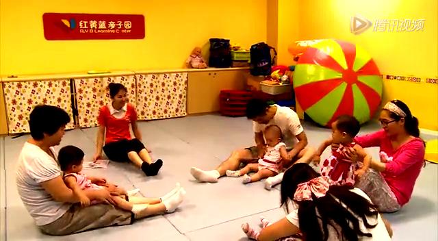 红黄蓝亲子园教师:刘敏