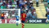 全场集锦:蒂亚戈帽子戏法 西班牙4-2意大利夺冠