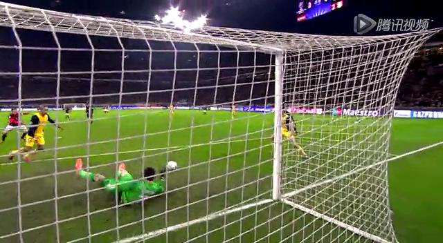 全场集锦:AC米兰0-1马竞 卡卡中楣科斯塔破门截图