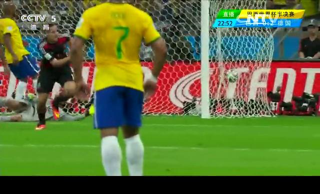 【德国集锦】巴西1-7德国 6分钟4球上演进攻狂潮截图
