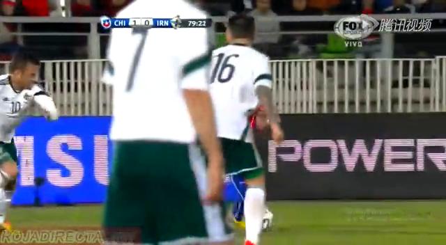 全场集锦:智利2-0北爱尔兰 巴尔加斯破门截图