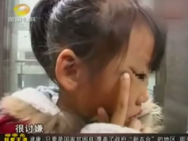 8岁女童公车上骂老人痴呆 被女子扇耳光