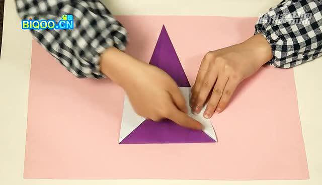 七彩折纸:教你折一只大象