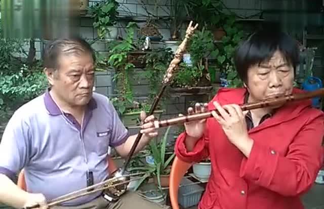 二胡,笛子合奏《红高梁》主题曲《九儿》